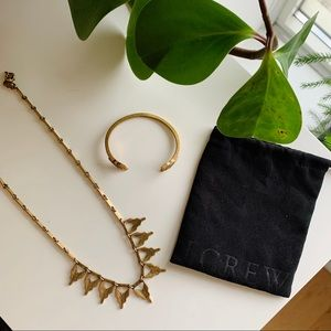 J. Crew Chevron Jewelry Set